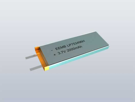 Li-Polymer High Rate Version Battery
