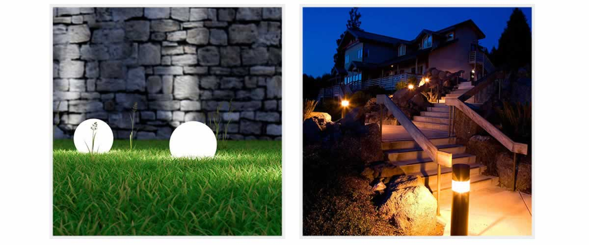 Solar Landscape lighting, Solar garden lighting