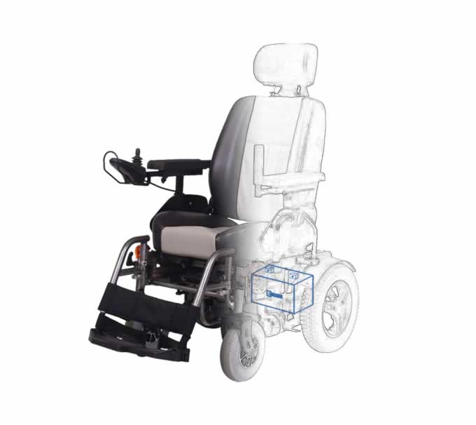 Electrical Wheelchair Battery